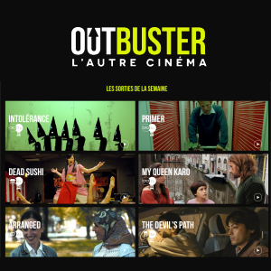 Outbuster, the cinema dedicated to new films