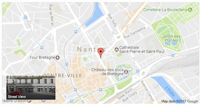 Nantes, rue de Strasbourg